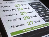 Online booking - web app