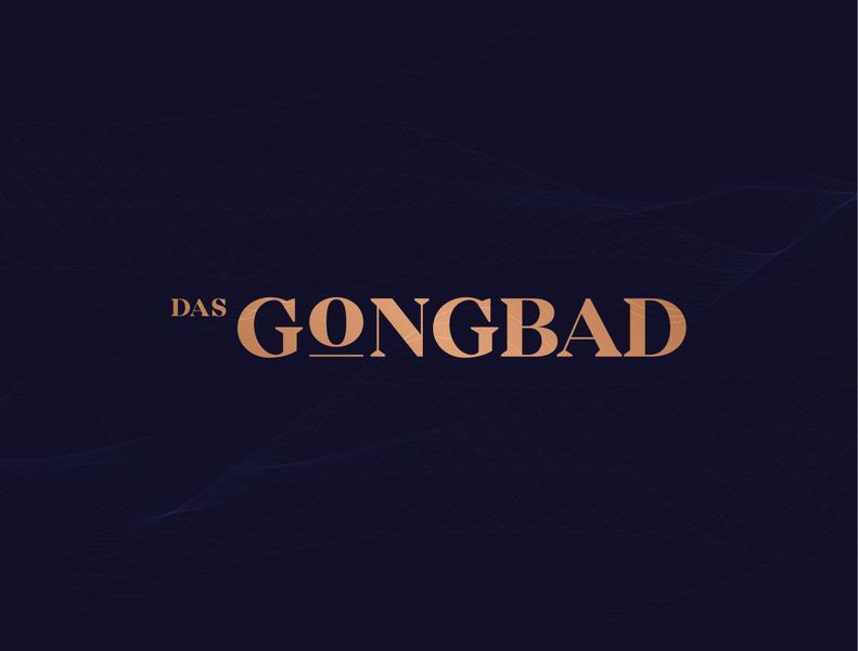 Mindful Logo Proposal for a Gong Bath Meditation Business