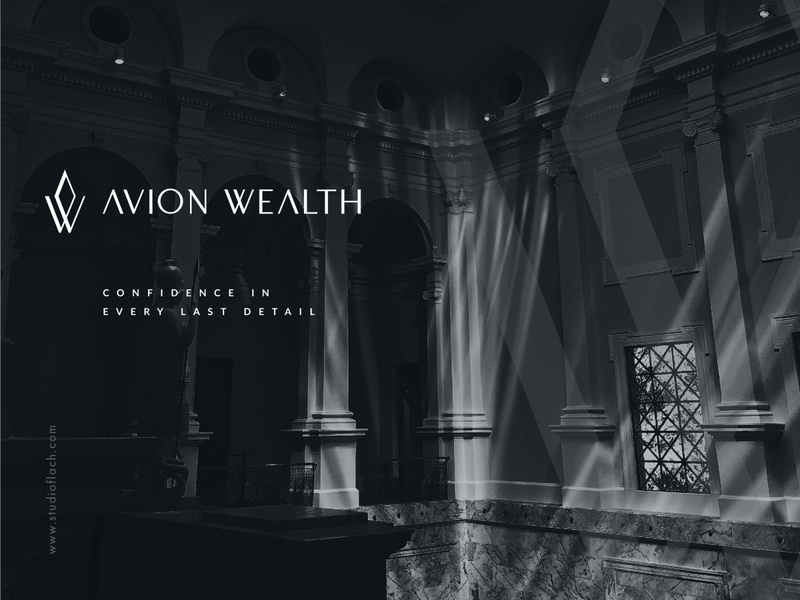 Sophisticated Logo Proposal for a Wealth Management Firm