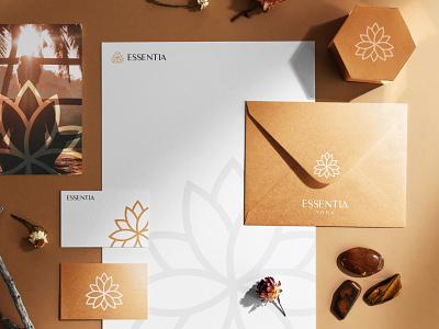 Logo Proposal - Yoga Studio wellness spa yoga branding design logo