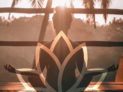 Logo Proposal - Yoga Studio yoga wellness spa branding design logo