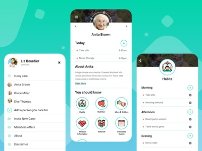 The Care Journal App