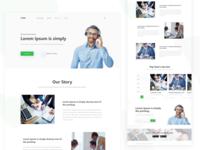 Sample web design | Daily UI design