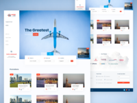 Web design For a Travel Agency