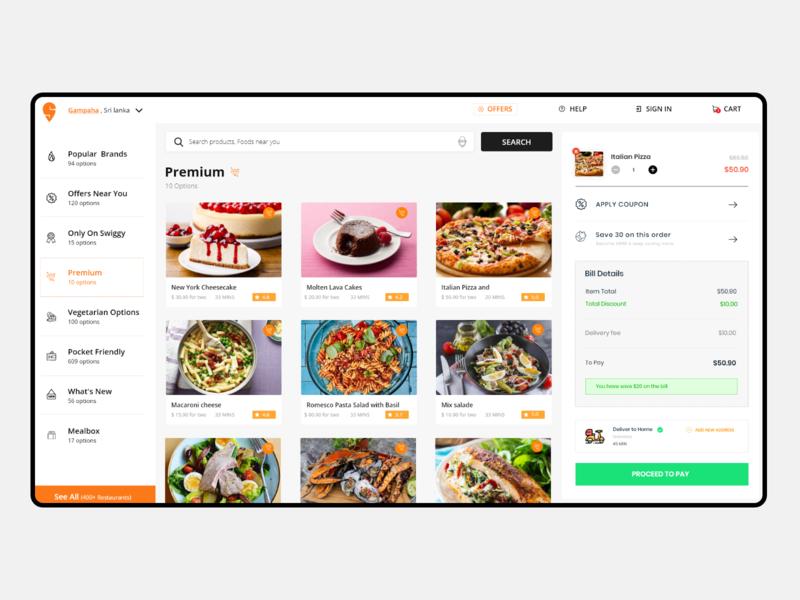 Restaurant dashboard design web design ui designer ux design uidesign restaurant dashboard restaurant