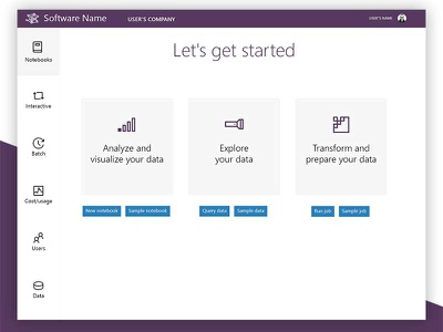 Big Data UI: One design ux ui