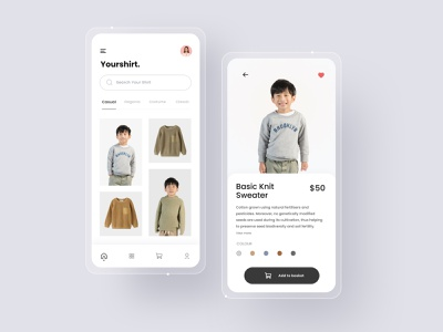 Fashion Mobile App fashion design fashion app fashion ios ios fashion uidesign minimal mobile app design clean ux ui