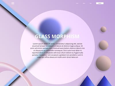 Glass Morphism IN UIUX Design   Trending 2021 recent uiux design 2021 trending uiux designs 2021 trending 2021 adobe xd ui  ux website design webdesign prototype uiuxdesigner ui design glass effect glassmorphism glassmorphic