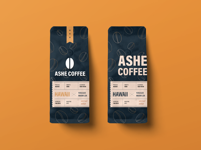 Ashe Coffee mockup logos logodesign logotype logo coffeeshop coffee bean coffeebag coffee