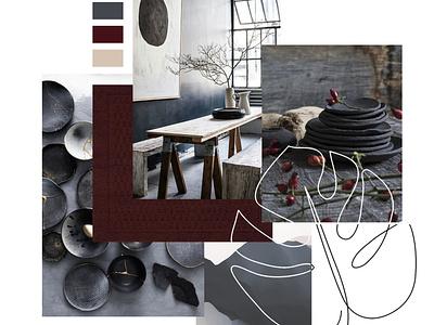 Interior Decor Moodboard design interior decoration interior decor interiordesign moodboard