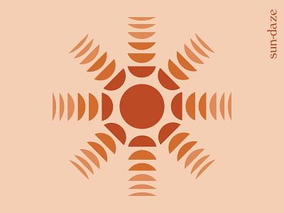 Sun-daze summer sun rays illustrator illustration sun