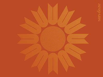 Sun-daze sun rays summer camp season illustrator sunny sundaze sun