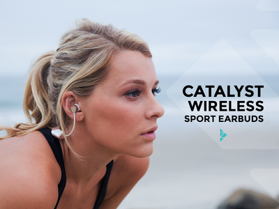 Catalyst Wireless Sport Earbuds by Zipbuds