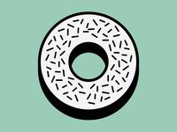 Minty Donut