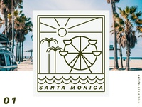 Santa Monica Badge