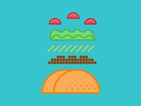 Tacos japanesestyle dribbble