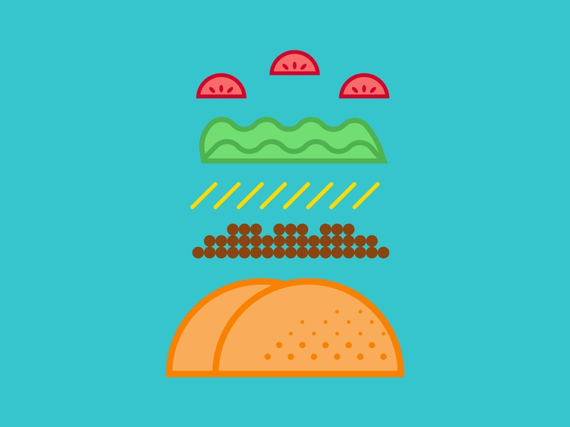 Tacos are life. illustration design japanese food mexican food mexican tacos