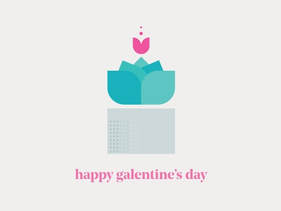 Galentine's Day plant bloom plants graphic personalproject weekoflove galentinesday galentines