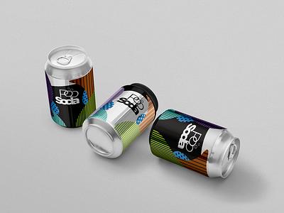 Soda Can Design package illustration minimalistic simple can soda package design packaging soda can branding design
