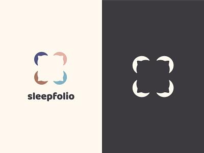Pillow Case Logo Design vector sheets sleep logo design design logo case pillow