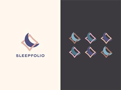 Pillow Case Logo Design [2] moon pillows case pillow sleep logo design logo