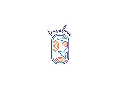 Travel Blog Logo airplane logo blog blog design window traveling sunshine airplane travel logo design logo