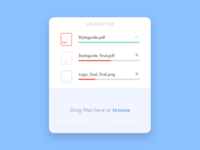 Daily UI Challenge: File Upload