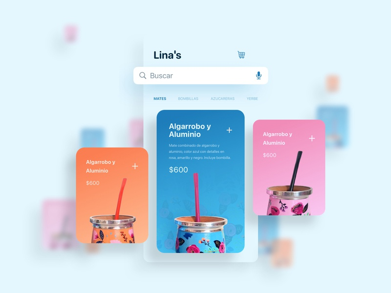 Buy Your Mate shopping tienda virtual ecommerce mate argentina concept app design user experience ui sketch ux shop