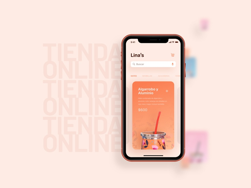 Mate Virtual Store shopping shop graphic ecommerce argentina concept app design user experience ui sketch ux