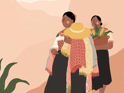 Día Internacional de la Migración women empowerment migration women illustration