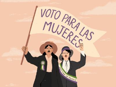 Día Mundial del Sufragio femenino en México.