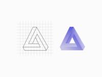 """Logo """"Penrose triangle"""""""