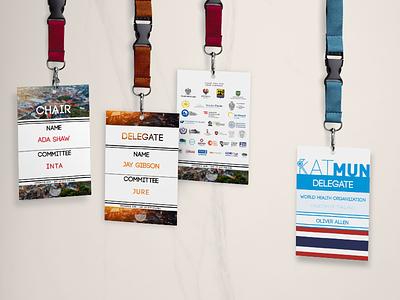 Event ID cards design event id graphic design