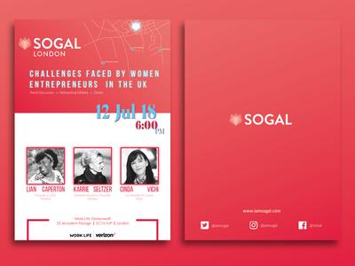 SoGal Event Flyer