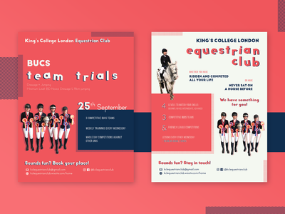 Sport event / leaflet design