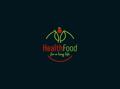 Health Food icon artwork design fiverr logo vector illustrator branding minimal brand