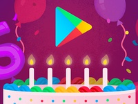 Google Play's 5th Birthday