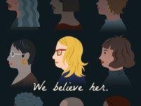 We believe her