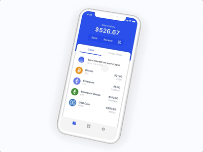 Earn interest on your crypto coinbase product design crypto currency crypto ux ui