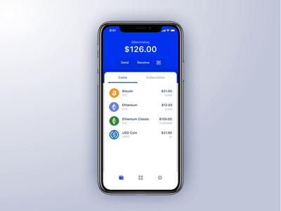 Coinbase Wallet's new send flow motion design mobile ui crypto currency crypto ux ui