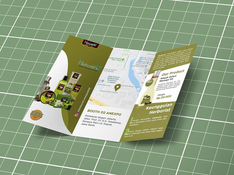 Herborist - Brochure trifold brochure design trifold brochure stationery sisivisual brochure design herborist prints brochure branding design