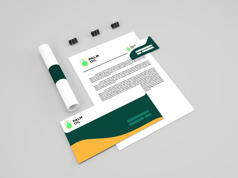 Palm Oil - Branding company branding logo branding design branding and identity stationery set stationery design stationery branding design