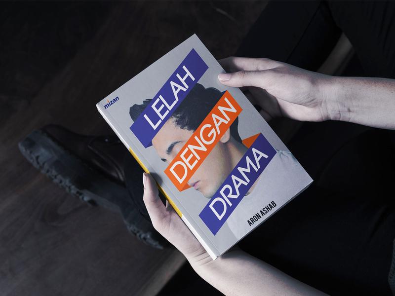 Lelah Dengan Drama book design cover design branding design book book cover