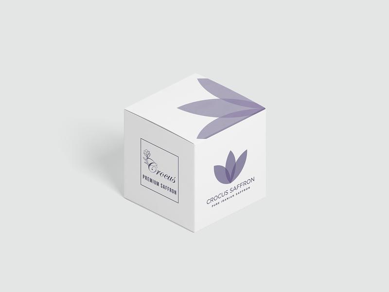 Cocrus Saffron - Packaging Design makeup logo minimal packaging branding design