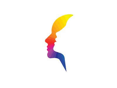 Whisper logo silouette female colors