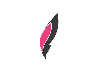 Santopalato feather flame logo pub restaurant