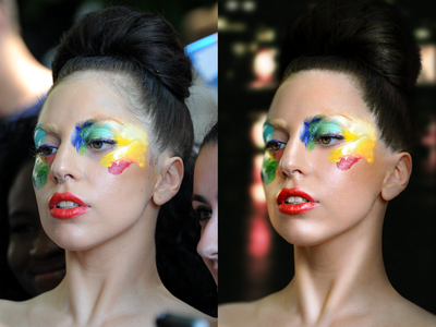 Post Production, Lady Gaga. photography transform photoshop artpop lady gaga post production retouch