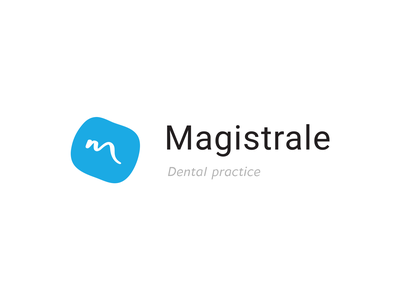 "Molar + ""M"" branding dental clinic dentist dentist logo logo"