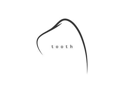 Tooth vector logo branding dentist logo dentist dental tooth