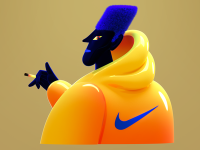 3Dfied 2D 3d character 3d artist 3d
